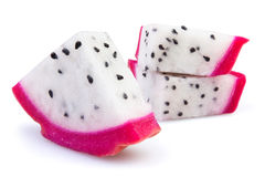 Pitahaya chunks Royalty Free Stock Images