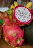Pitahaya cor-de-rosa Imagens de Stock Royalty Free