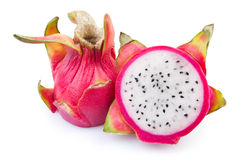 Pitahaya cut Stock Photography