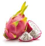 Pitahaya dragonfruit, pitaya odizolowywający Obrazy Stock