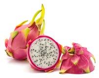 Pitahaya dragonfruit, pitaya odizolowywający Obraz Stock