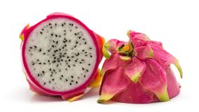 Pitahaya dragonfruit, pitaya odizolowywający Fotografia Stock