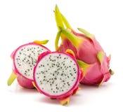 Pitahaya dragonfruit, pitaya odizolowywający Zdjęcie Royalty Free