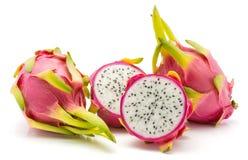 Pitahaya dragonfruit, pitaya odizolowywający Zdjęcie Stock