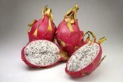 Pitahaya - fruit tropical doux Studio, grand plan rapproché photo stock