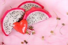 Pitahaya rosado Imágenes de archivo libres de regalías