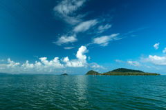 Pitak Island. And blue sky Stock Photography
