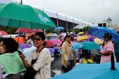 Pitak Siam Anti-Government Rally in Bangkok, Thailand Stock Photo
