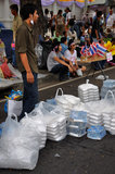 Pitak Siam Anti-Government Rally in Bangkok, Thailand Stock Images