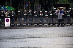 Pitak Siam antyrządowy wiec w Bangkok, Tajlandia zdjęcie stock