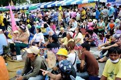 Pitak Siam antyrządowy wiec w Bangkok, Tajlandia obraz royalty free
