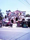 Pitalo kapell Sibonga, Cebu royaltyfria foton