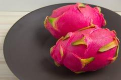 Pitaya或Pitahaya是果子 免版税库存图片