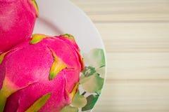 Pitaya или Pitahaya плодоовощ Стоковое Фото