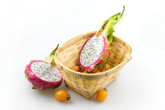 Pitaya. Dragon fruit can promote health, beauty, disease prevention and physical effects Stock Photography