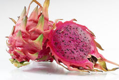 Pitaya. Close-up on a white background Royalty Free Stock Photos