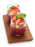 Pitaya bowl Royalty Free Stock Images