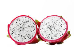 Pitaya cross sections Stock Images