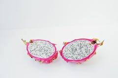 Pitaya de fruit ou pitahaya exotique, undatu de Hylocereus de fruit du dragon Images stock