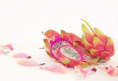 Pitaya dolce - frutta del drago Fotografia Stock Libera da Diritti