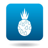 Pitaya, dragon fruit icon in flat style Royalty Free Stock Images