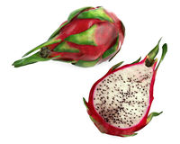 Pitaya Dragon fruit isolated Stock Images