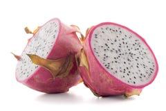 Pitaya or Dragon Fruit. Isolated on white background Royalty Free Stock Photo