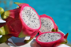 Pitaya - drakefrukt Royaltyfri Foto