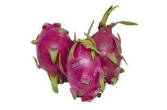 Pitaya eller Dragon Fruit isolerad snabb bana Fotografering för Bildbyråer