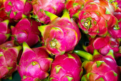 Pitaya fruits on the local market Royalty Free Stock Photography