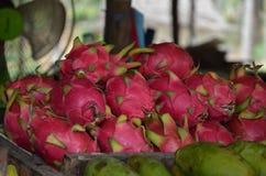 Pitaya. Fruits at the thai market Stock Photography