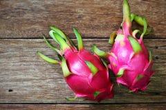 Pitaya rosado jugoso foto de archivo libre de regalías