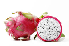 Pitaya and transection Royalty Free Stock Photos