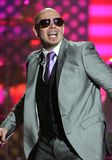 Pitbull performs at the SOS Telethon stock images