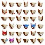 Pitbulls Dog Emoji Emoticon Expression Stock Photos