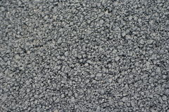 Pitch. Which forms the black asphalt of a road Royalty Free Stock Image