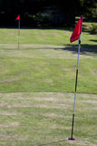 Pitch and Putt Two Greens Stock Photography