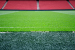 Pitch side Royalty Free Stock Photos