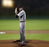 Pitcher Baseball Player Royalty Free Stock Image