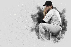 Pitcher Baseball Royalty Free Stock Images