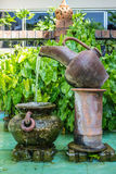 Pitcher and basin Stock Images