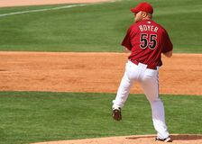 Pitcher Blaine Boyer Stock Photo