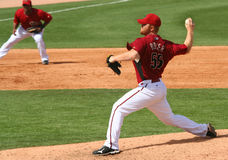 Pitcher Blaine Boyer Stock Image