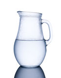Pitcher of cold water Stock Photography