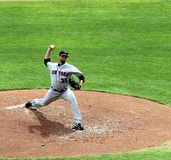 Pitcher Dillon Gee of the NY Mets Royalty Free Stock Photo