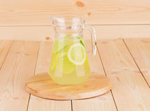 Pitcher full of lemonade Royalty Free Stock Image