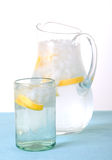 Pitcher and Glass of Water Royalty Free Stock Photo