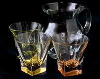 Pitcher and glasses Royalty Free Stock Photo