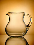 Pitcher on a gold background Royalty Free Stock Photography