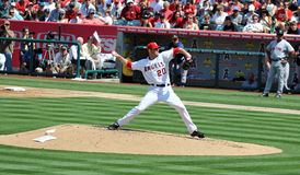 Pitcher Jon Garland Royalty Free Stock Photos